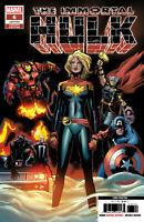 IMMORTAL HULK #6 Marvel 3RD PRINT GARBETT Variant COVER A CAROL DANVERS