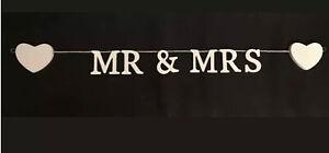 Mr & Mrs Hanging Garland Wedding Decoration