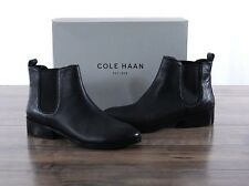 NEW Cole Haan Landsman Bootie Black Women's 8 MED leather Ankle Boots W06488