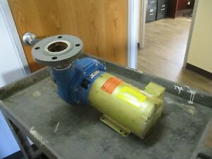 Goulds Model 3656 Centrifugal Pump 4BF1HBK0 Size: 2 1/2x3-7 3HP 3600RPM 230/460V