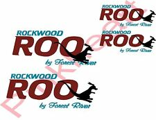 Rockwood ROO by forest river KIT decal Rv camper decals graphics sticker USA