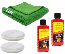 NUMBER ONE Acryl Versiegelung Autopolitur NANO Tech, mit Hand Polierhilfe+Tuch