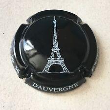 Capsule de champagne DAUVERGNE (7. Tour Eiffel noir et blanc)