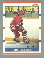 1990-91 Score Canadian #440 Eric Lindros RC (ref50174)