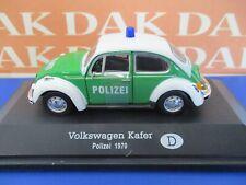 Die cast 1/43 Modellino Auto Polizia Police Volkswagen Maggiolino Kafer Germany