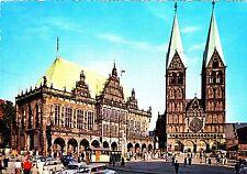 Bremen , Rathaus und Dom , Ansichtskarte, 19?? gelaufen
