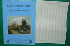 catalogue vente enchères VERSAILLES Tableaux modernes + liste prix de vente (12)