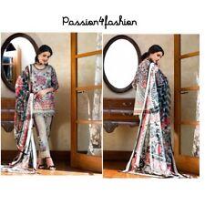 pakistani designer cotton lawn  salwar kameez anarkali UNSTITCHED SUIT