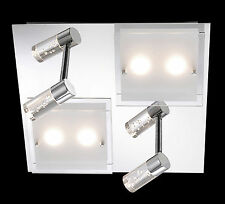 Deckenleuchte LED Deckenlampe Deckenstrahler Lichtleiste Balkenstrahler Eckig