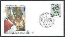 1997 VATICANO VIAGGI DEL PAPA POLONIA LEGNICA - SV9