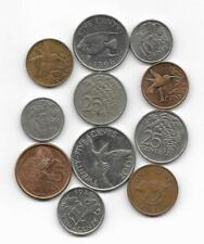 BERMUDA + TRINIDAD & TOBAGO  Lote de monedas
