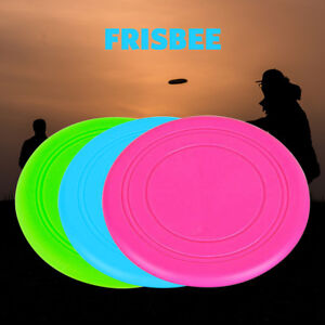 Dog Puppy Fetch Training Toy Flying Disc Silicone Frisbee Kids Toy 3 Colours