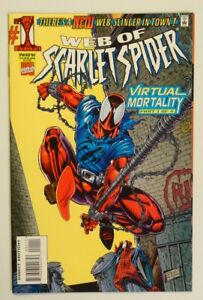 Web of Scarlet Spider #1 (1st Appearance of Jason Tso and Orlando Kannor!)
