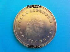 1795/1796 US One Dollar Liberty Metal Coin Novelty Collectors / Reproduction