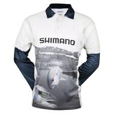 Shimano Coltsniper Kingfish Sublimated Shirt Blue White