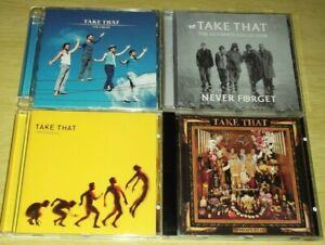 4 x CD Albums From Take That. All Listed. All Cases & Artwork Included. Good Mix