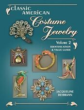 NEW Classic Costume Jewelry Volume II PRICE GUIDE COLLECTOR'S BOOK