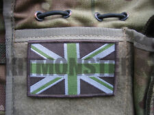 Light Olive Subdued Union Flag VCRO Patch for Multicam or MTP 8 x 5cm Large
