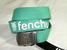 BNWT - FENCHURCH  Cotton Webbing Belt   Green
