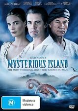 Mysterious Island 3 Hour Mini Series ALL Region DVD Brand New Sealed