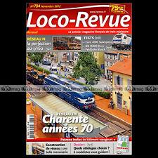 LOCO REVUE N°784 EURO 4000 SUDEXPRESS BB 16008 BB MIDI 4200 4700 LOUISSAC SGSS