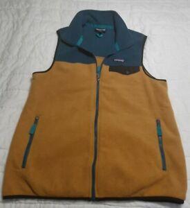 Patagonia Synchilla Snap-T Fleece Vest Color Block Medium