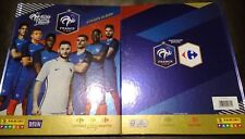PANINI Foot Fiers Bleus France 2018 Carrefour 1 nouvel Album Premium cartonne