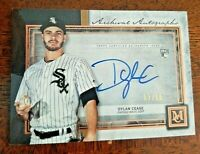 Dylan Cease 2020 Topps Museum Collection SP RC On Card Auto /50 White Sox
