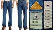 Bulwark 42 X 28 Stone Wash Cotton Flame Resistant Denim Jeans With Button Closure