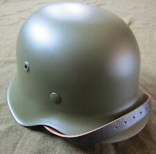 WWII GERMAN M42 COMBAT STEEL HELMET- 66 SHELL AND 58-59 LINER
