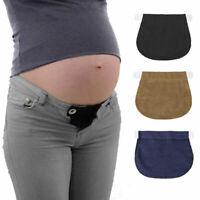 Pregnancy Women's Waistband Extension Belt Waist Extender Pants Elastic Fashion