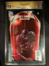 Batman and Robin #6 1:25 Variant CGC SS 9.8 Signed by Philip Tan