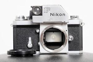 *RARE* 1964 NIKON F 'RED FLAG' NIPPON KOGAKU PHOTOMIC (WORKS)...GREAT SHUTTER!