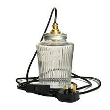 MARY Desk Lamp. 20% VAT inc. Vintage Retro Style Kilner Jar CE MARKED