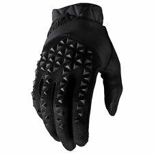 100 Percent Geomatic Gloves Mtb - Black All Sizes