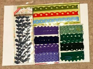 Felt Borders - Cards - Crafts - Scrapbooking - All Proceeds to MacMillan