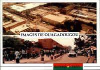 Burkina Faso Provinz Kadiogo OUAGADOUGOU Afrika Africa color Postkarte Postcard