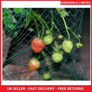 GARDEN MESH NETTING - Fruit Veg Bean Strawberries Fruit bushes Seed beds 4 x 5m