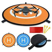 Waterproof D 75cm/30'' Portable Foldable Landing Pads for RC Drones Helicopter