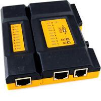 Network LAN Cat6e Cat5e RJ45 RJ11 Mini UTP Cable Tester