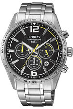 LORUS RT309FX-9,Men's Chronograph,QUARTZ,STAINLESS CASE,Brand New,50m WR