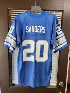 Vintage Detroit Lions Barry Sanders #20 Gridiron Classic Throwback NFL Jersey