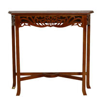 Mahogany Console Latice  Table