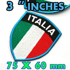 ITALY ITALIA LARGE Embroidered Iron On Patch Soccer Football World Cup Olympic