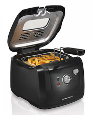 Hamilton Beach Deep Fryer w/ Cool Touch, Electric Countertop, Home Restaurant