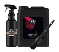 K2 Roton Pro Felgenreiniger 5L + K2 Mixer 1L + K2 Round Detailing Brush