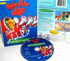Rolie Polie Olie: Olie's Winter Wonderland NEW! DVD, DISNEY,CHRISTMAS,EMMY AWARD