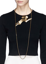 NIB Rare Lanvin Rabbit Necklace (Retail 1,495)