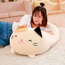 Squishy chubby cute cat stuffed pillow
