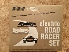 Sears Allstate Electric Road Racer Set Aurora 1960s